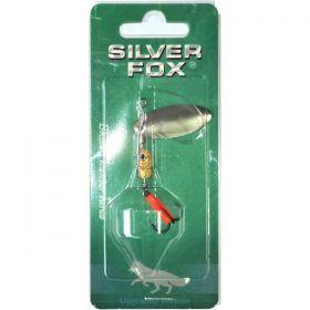 Блесна вращающаяся SILVER FOX FLAT 3D 16SK-S