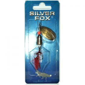 Блесна вращающаяся акустическая SILVER FOX VIBRO 3D 16FF-B